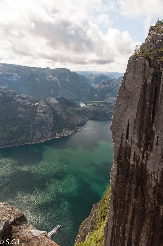 Lysefjord o el fiordo de la luz