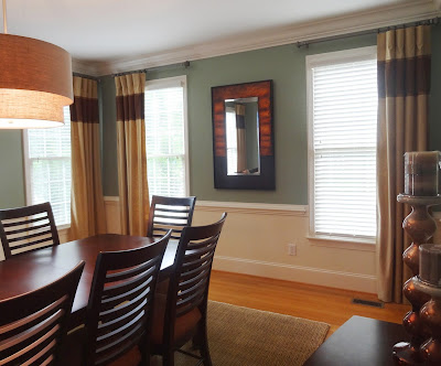 drapes on one side of window