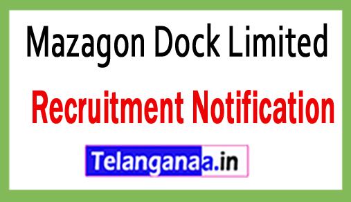 Mazagon Dock Limited MDL Recruitment Notification