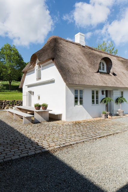 Danish farmhouse exterior on Hello Lovely Studio