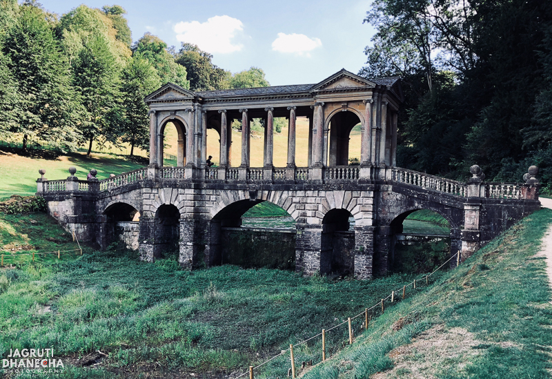 One of four palladian bridges in prior park bath united kingdon