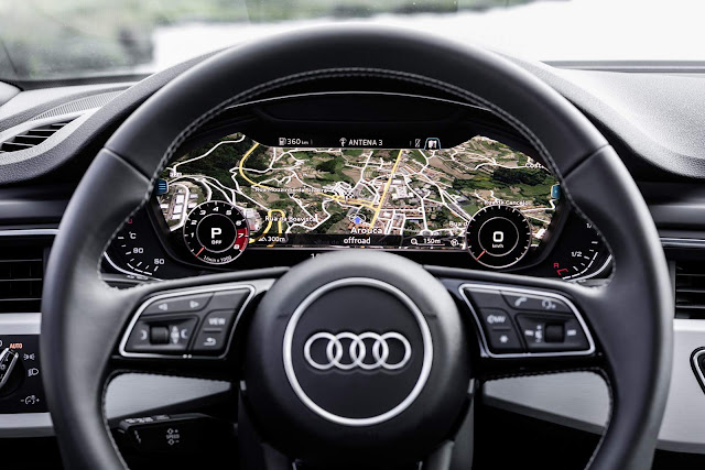 2017 Audi A5 3.0 TDI - cockpit virtual