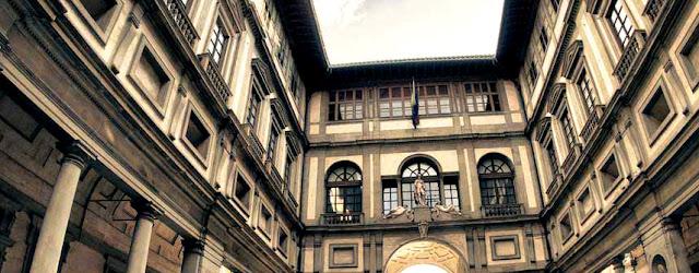 Uffizi Gallery,tourist hotspots