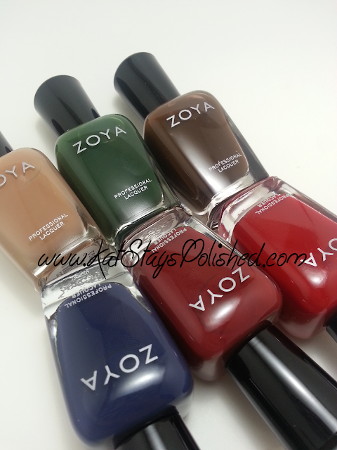 Zoya Fall 2013 - Cashmeres Collection