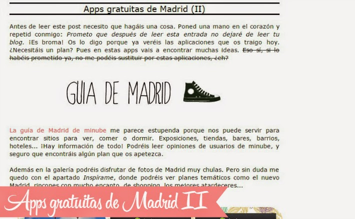 Apps sobre Madrid