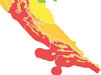 crveni meteoalarm Brački kanal slike otok Brač Online