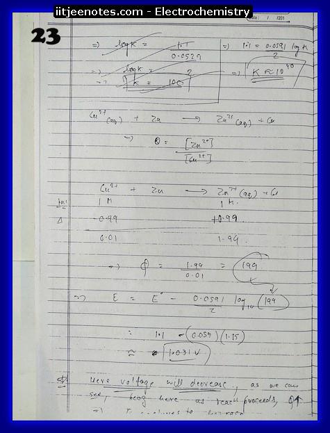 Electrochemistry Notes8