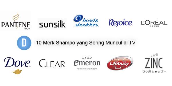 Merek Shampo, Shampo di tv, Shampo, Merk Shampo