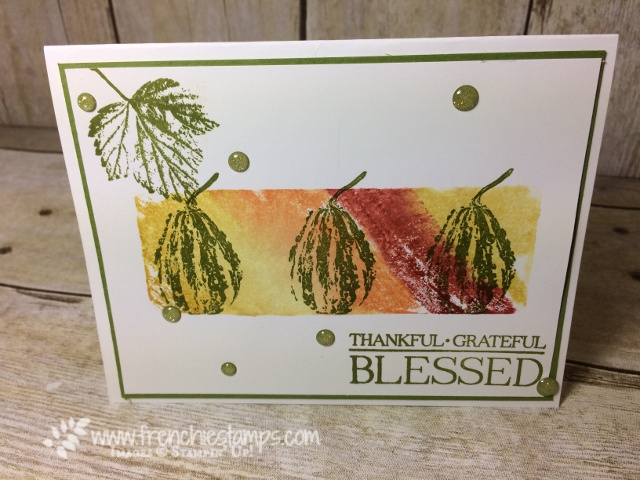 Paisleys & Posies, Gourd Goodness, Stamping technique 101, blog hop,