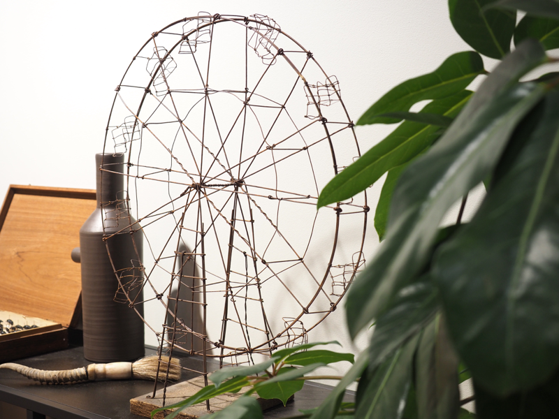 antiikkinen rautainen maailmanpyörä