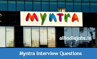 Myntra Interview Questions
