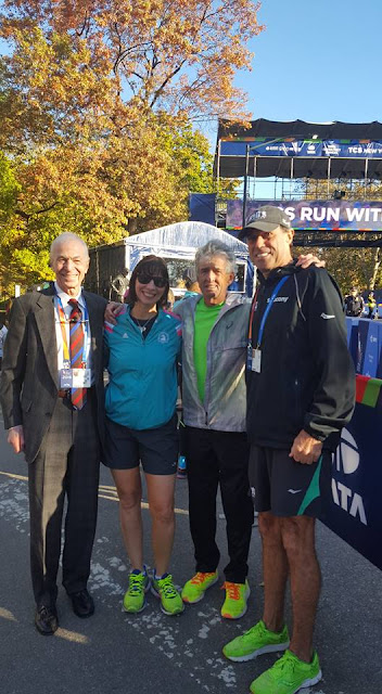 What does NYPD do for security during NYRR marathons?