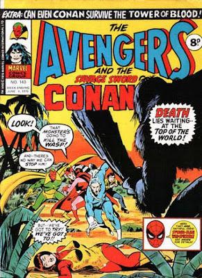 Marvel UK, Avengers #143