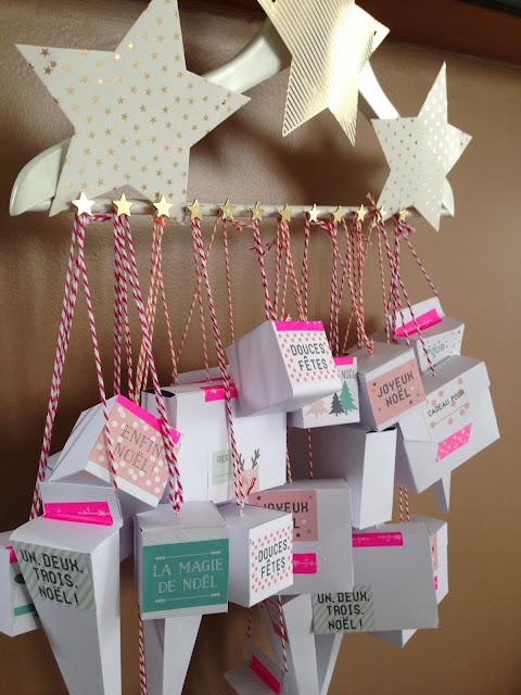 Calendrier de l'avent DIY - Advent Calendar homemade