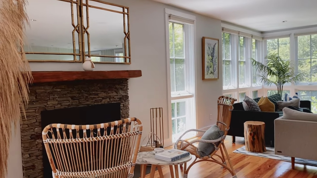 Newport, RI Designer's Beach House Makeover vs. 17 Interior Design Photos