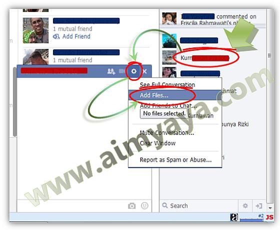 Cara Mengirim File Lewat Facebook Cara Aimyaya Cara Semua Cara