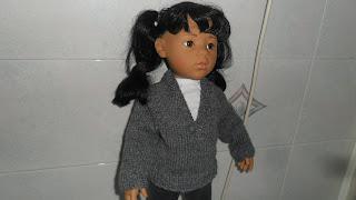 Doll pullover pattern