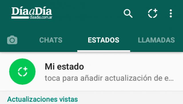 """Actualizá Whatsapp y vas a conocer un mundo nuevo: """"Estados"""""""