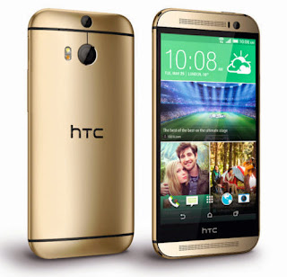 (36% Off) HTC One M8 (Gold) Rs.37840