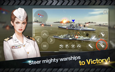 Warship Battle 3D World War II v1.3.0 Mod Apk (Unlimited Money)1