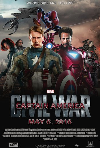 Captain America Civil War 2016 Hindi Dubbed HDCAM 400mb