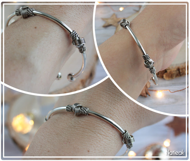 bracelet jonc Kayah Bijoxc Chérie