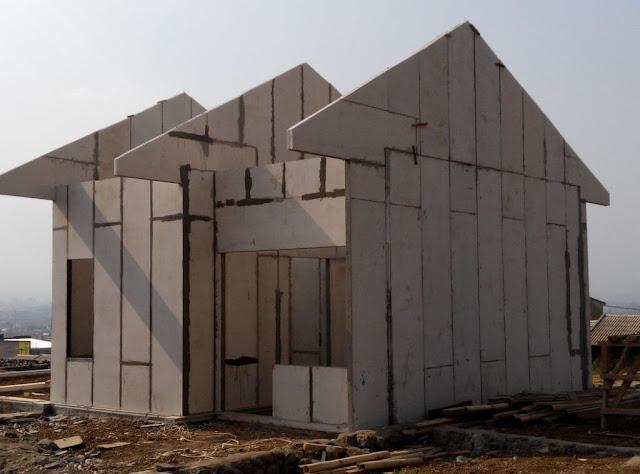 Panel Dinding Ringan / Precast Beton Ringan