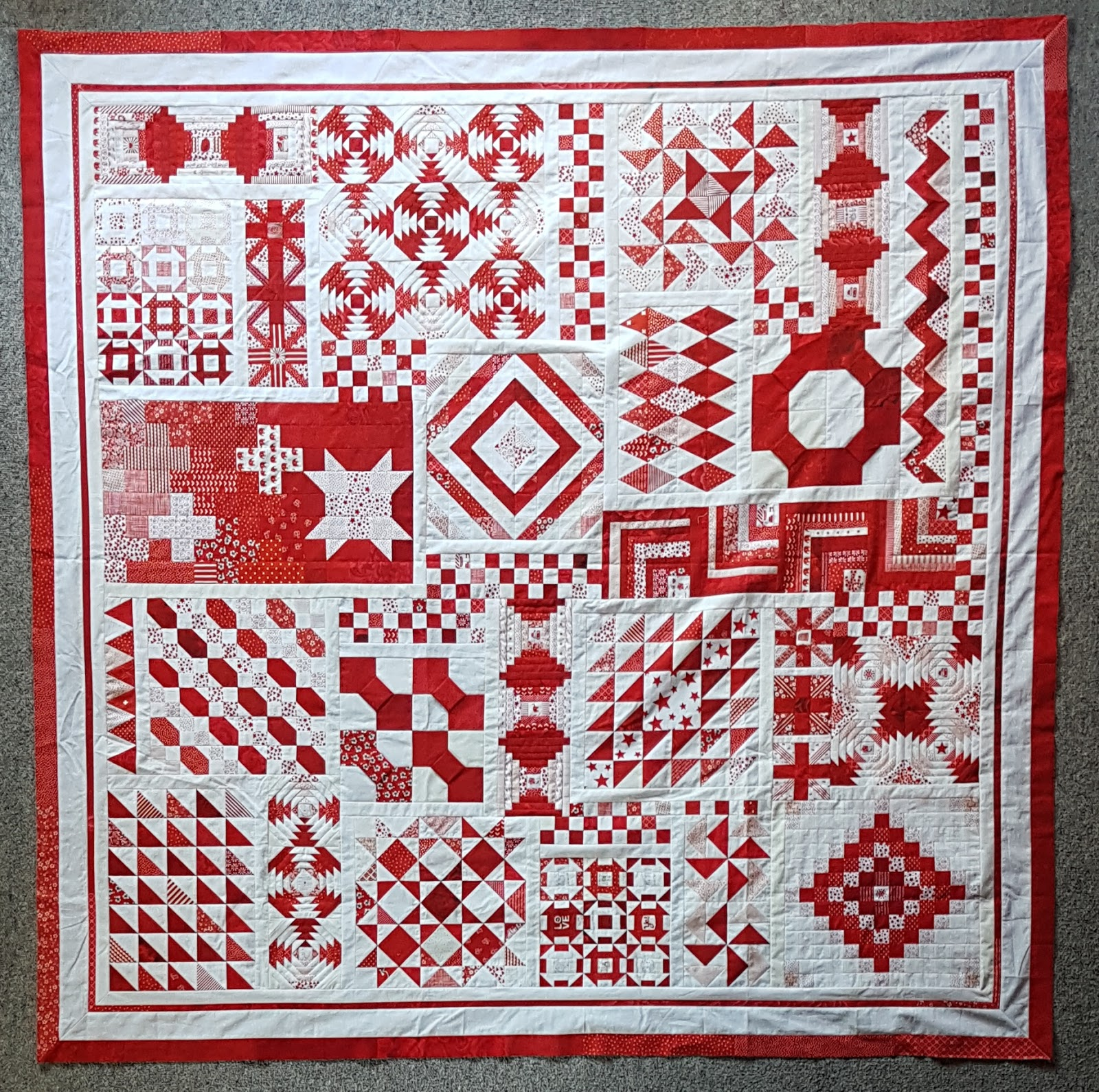 quiltmekiwi: Linda's 'Long-Time-Gone' Quilt : gone quilting - Adamdwight.com