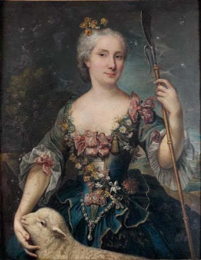 Portrait de Femme en Ste Agnès, Marianne Loir