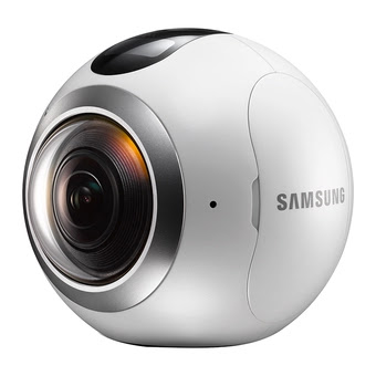 Samsung Gear 360° camera