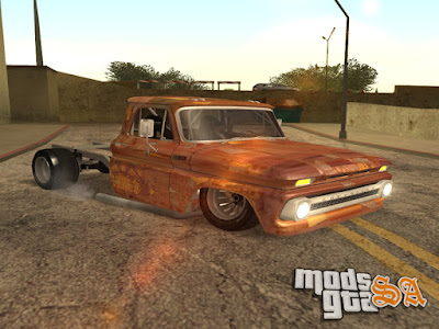 Chevrolet C10 1963 Hot Rod para GTA San Andreas