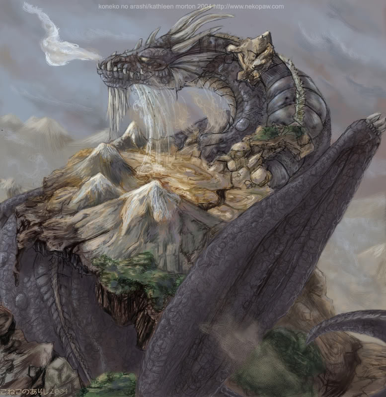 Earth Dragon: THE ELEMENTS: Enter The Water Dragon