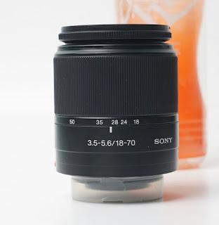 Lensa Sony 18-70 ( SAL1870 ) - A Mount