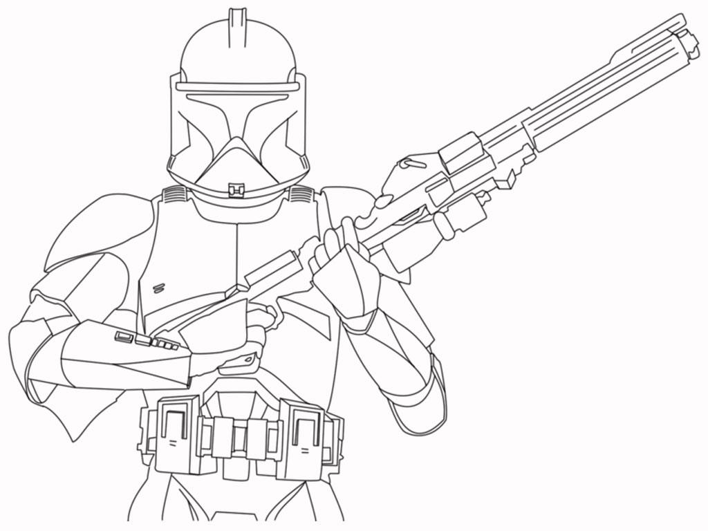 20 Beautiful Star Wars Ausmalbilder Commander Cody