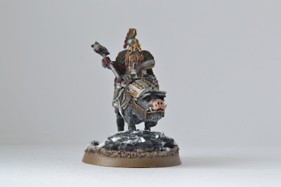 Dáin Ironfoot on Warboar Hobbit SBG