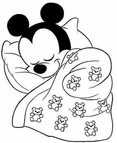 Artes da Nil Riscos e Rabiscos Mickey baby