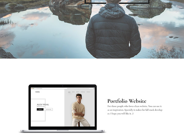Download Alex - Personal Portfolio & Resume PSD Template Free
