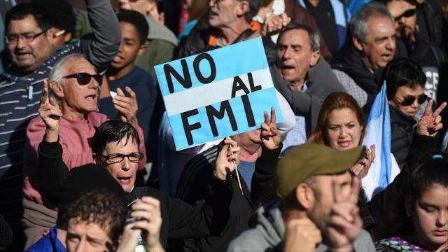 Resultado de imagen para argentina no al fmi