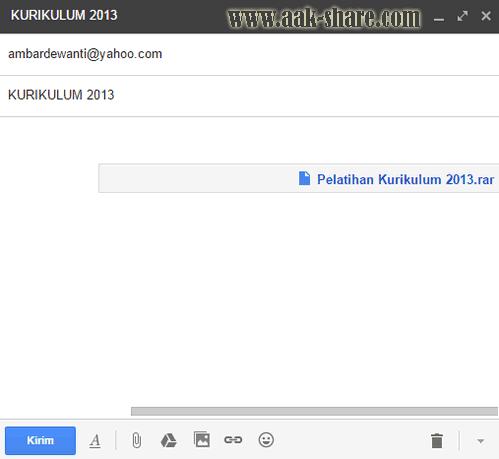 File yang sudah diupload melalui Google Drive yang berupa link