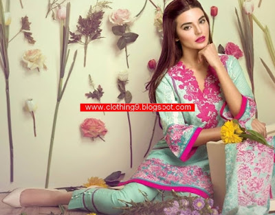 Ethnic by Outfitters Lawn Festive 2015