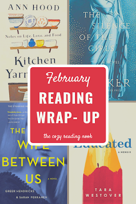 Five books I read in February - The Cozy Reading Nook