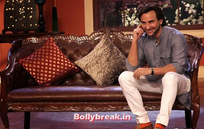 , Saif ali khan on Comedy nights with Kapil