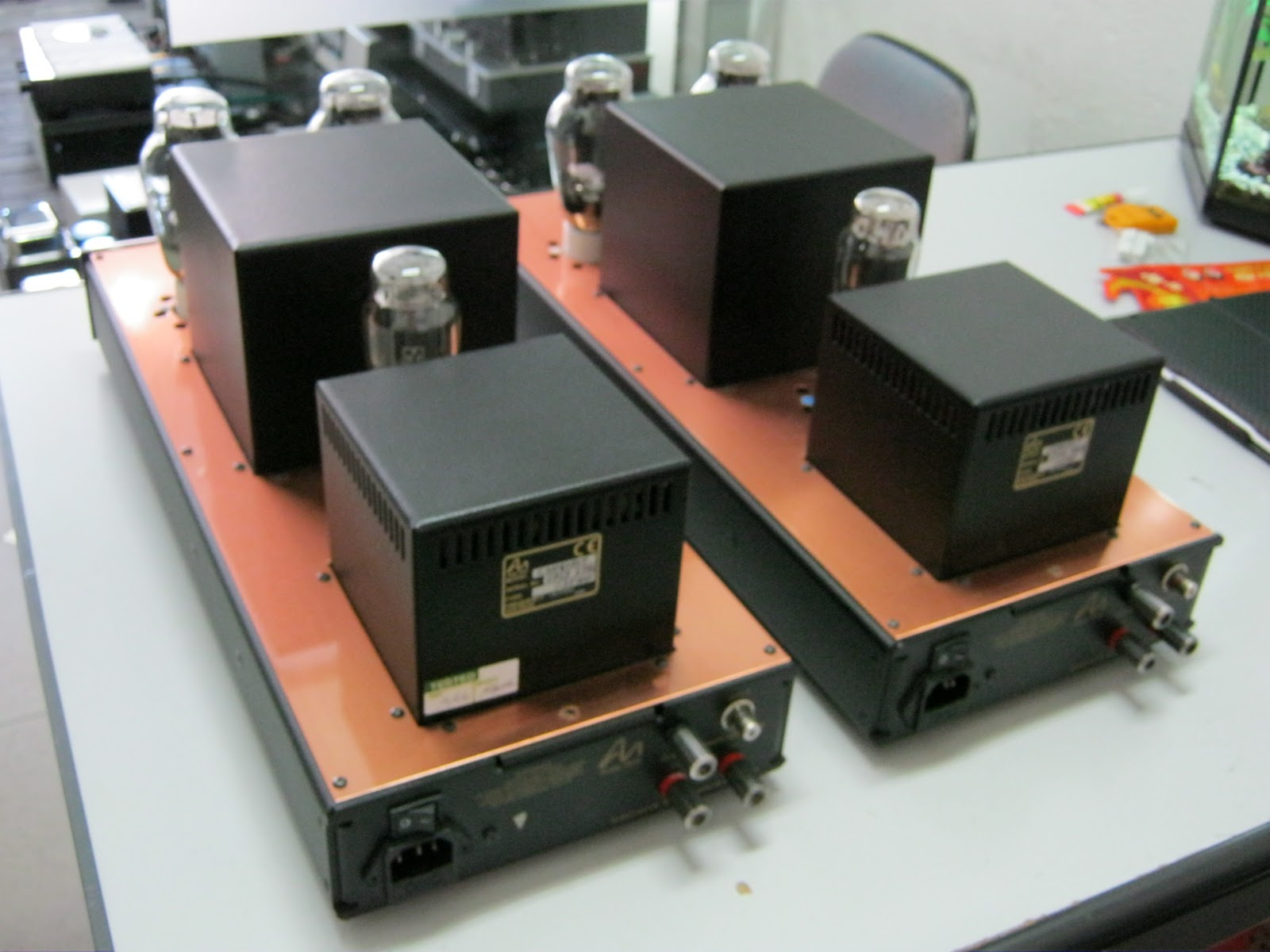 Happy Audio Visual: Audio note conquest 300B mono block (used)sold