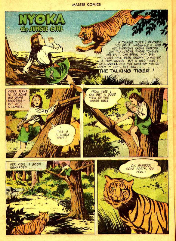 Jungle Girl Comic Book