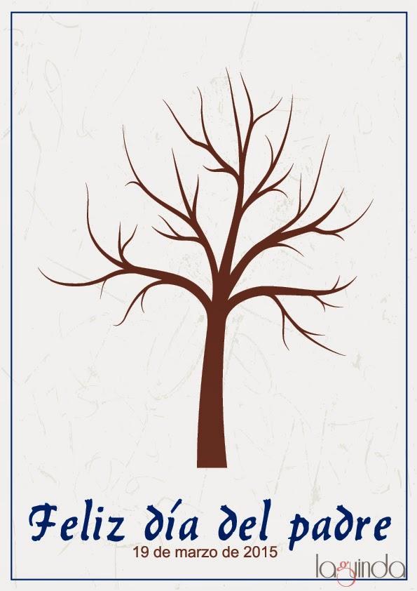 plantilla-árbol-día-del-padre