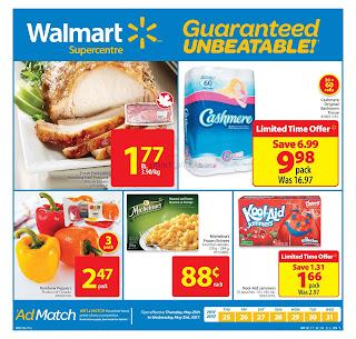 Walmart Flyer valid May 25 to 31, 2017