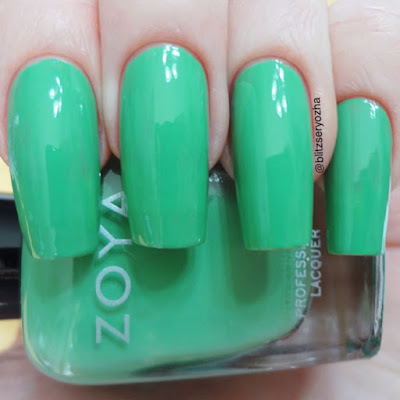 Zoya Ness One Coat Swatch