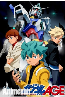 Chiến Binh Vũ Trụ -Kidou Senshi Gundam Age - Kidou Senshi Gundam Age 2013 Poster