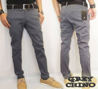 Model Celana Chino Berbagai Warna dan Merk