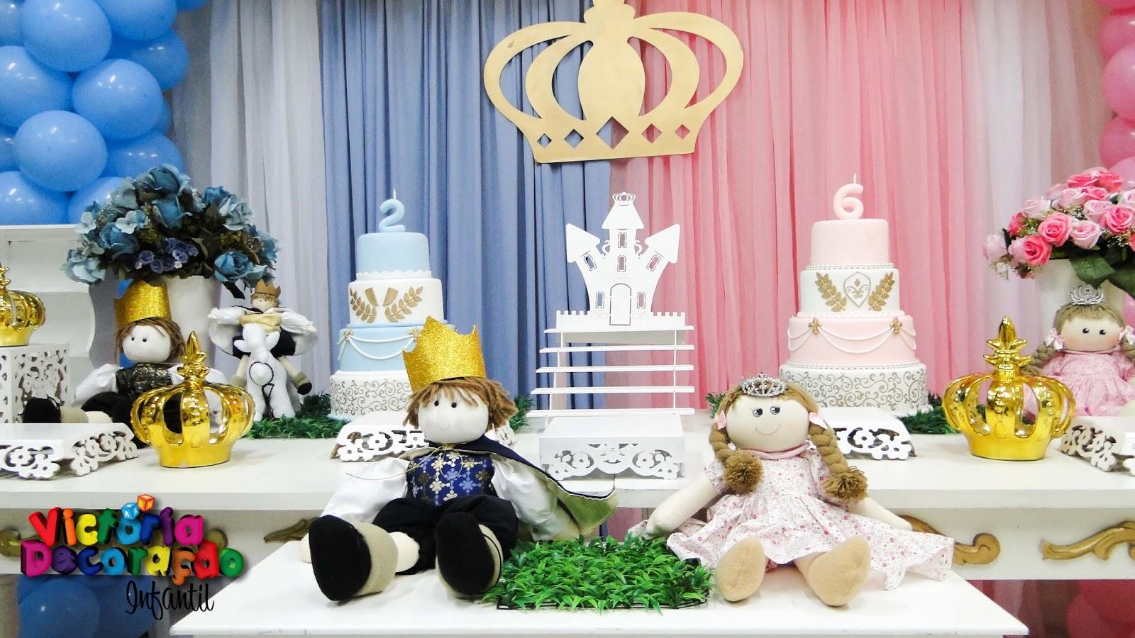 Extremamente Victoria Decoração Infantil : Princesa e príncipe WI97